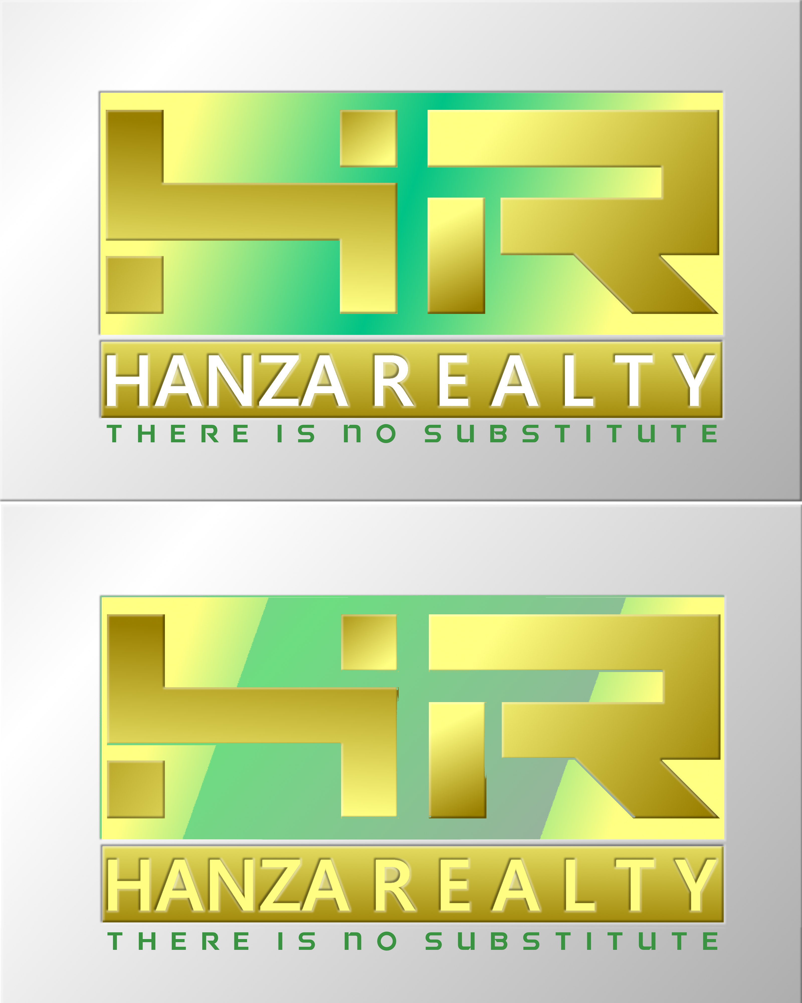 Logo Design by Roberto Bassi - Entry No. 438 in the Logo Design Contest Logo Design for Hanza Realty.