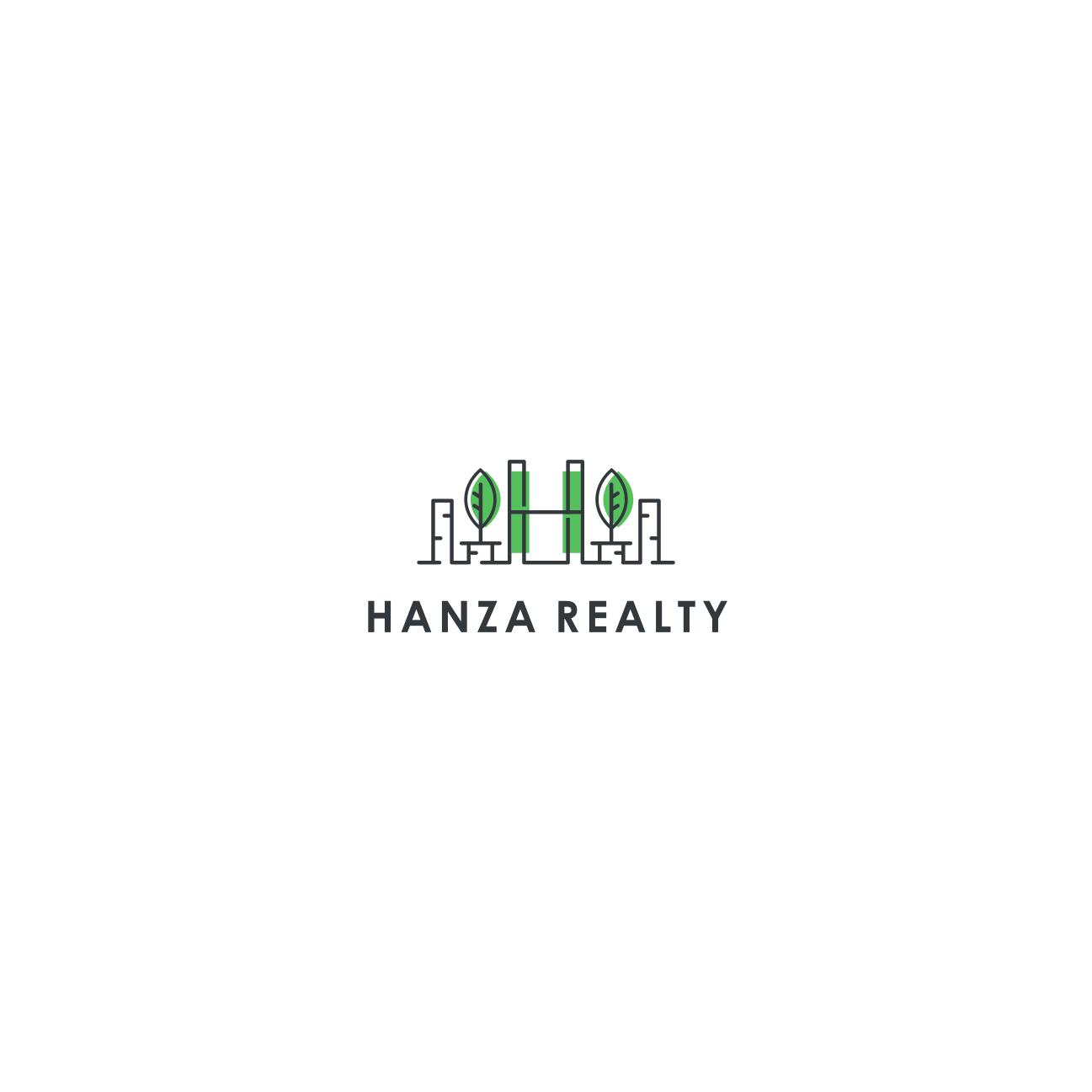 Logo Design by Balya ibnu Bi malkan - Entry No. 441 in the Logo Design Contest Logo Design for Hanza Realty.