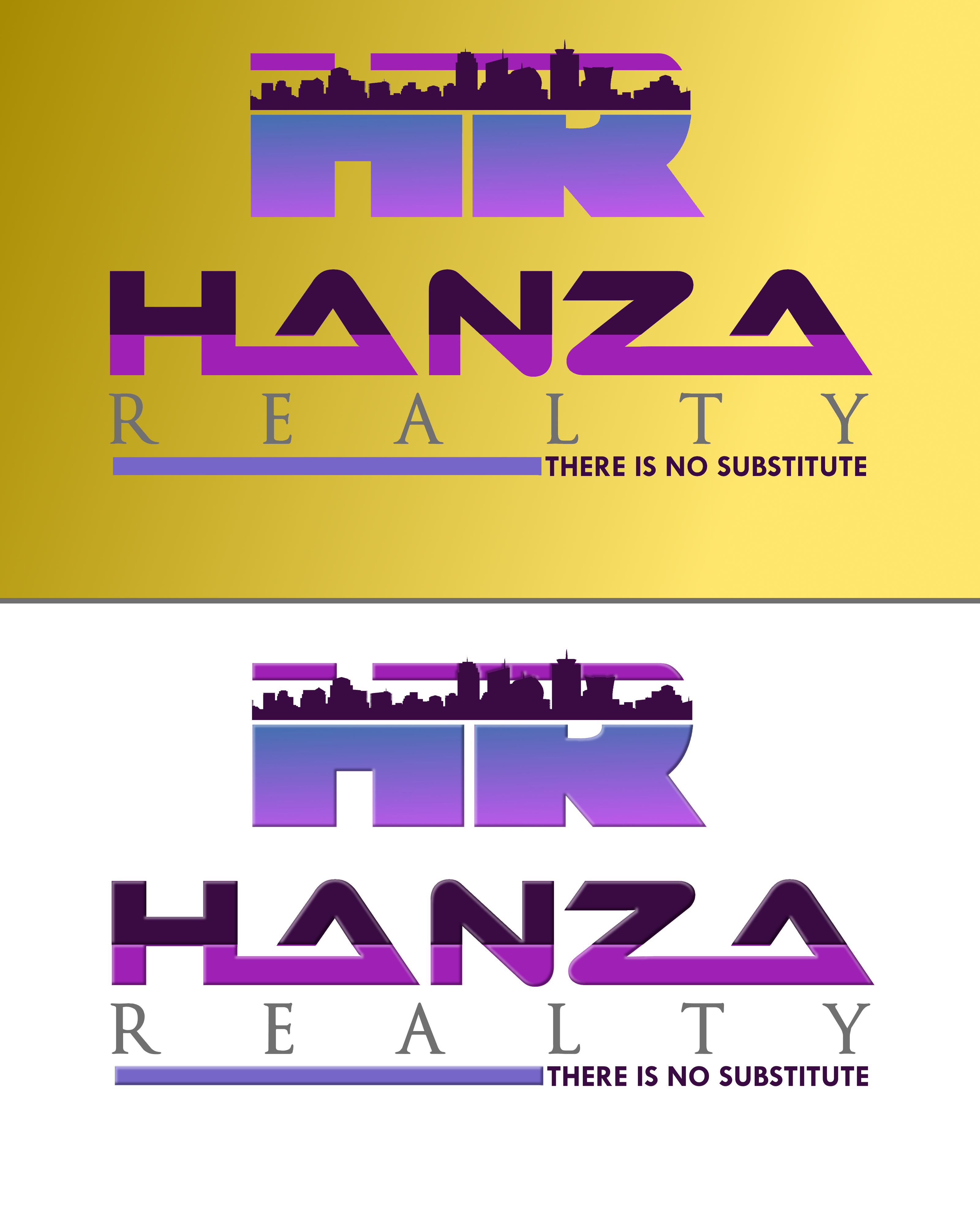 Logo Design by Roberto Bassi - Entry No. 444 in the Logo Design Contest Logo Design for Hanza Realty.
