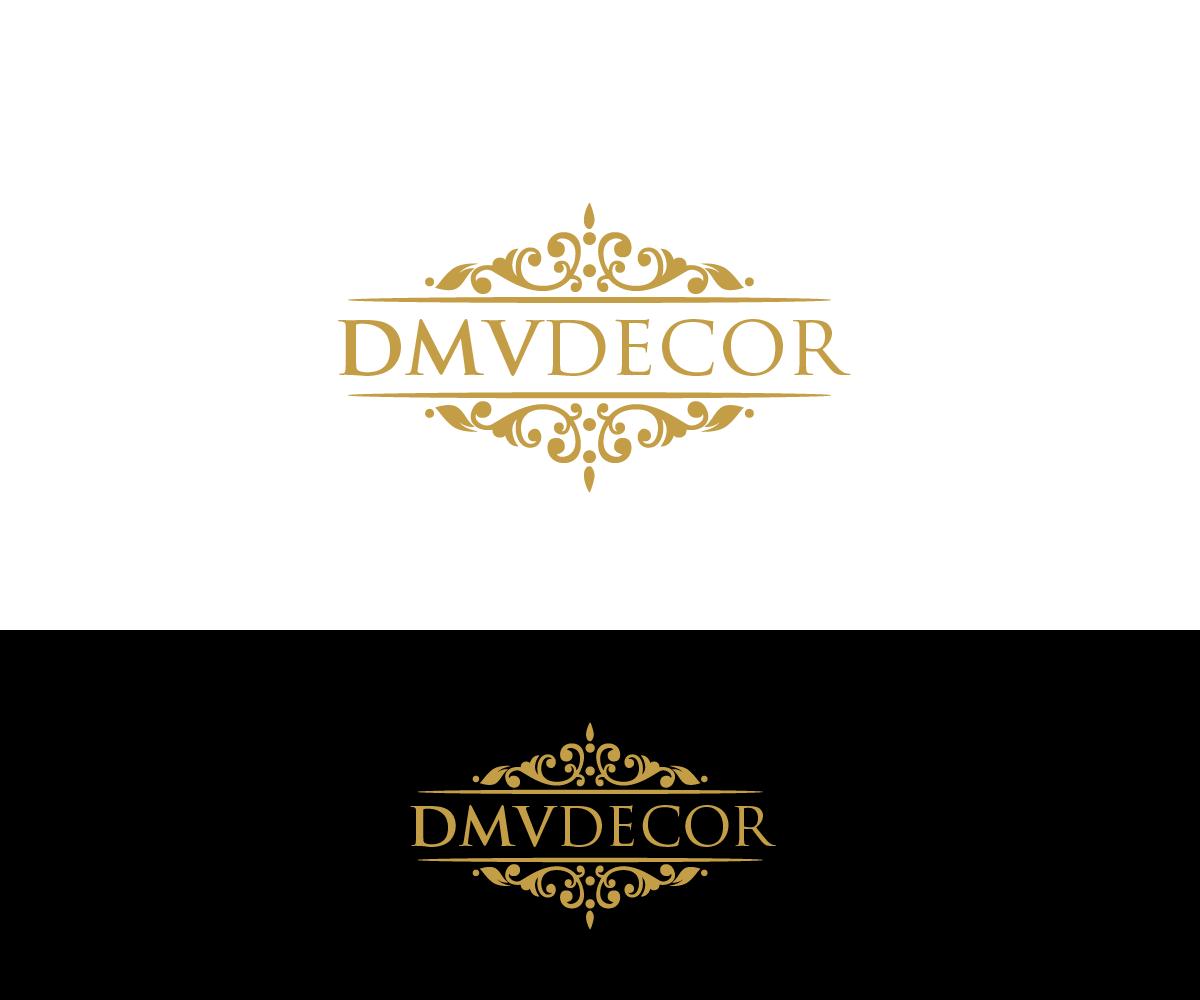 Logo Design by Juan Luna - Entry No. 181 in the Logo Design Contest dmvdecor Logo Design.