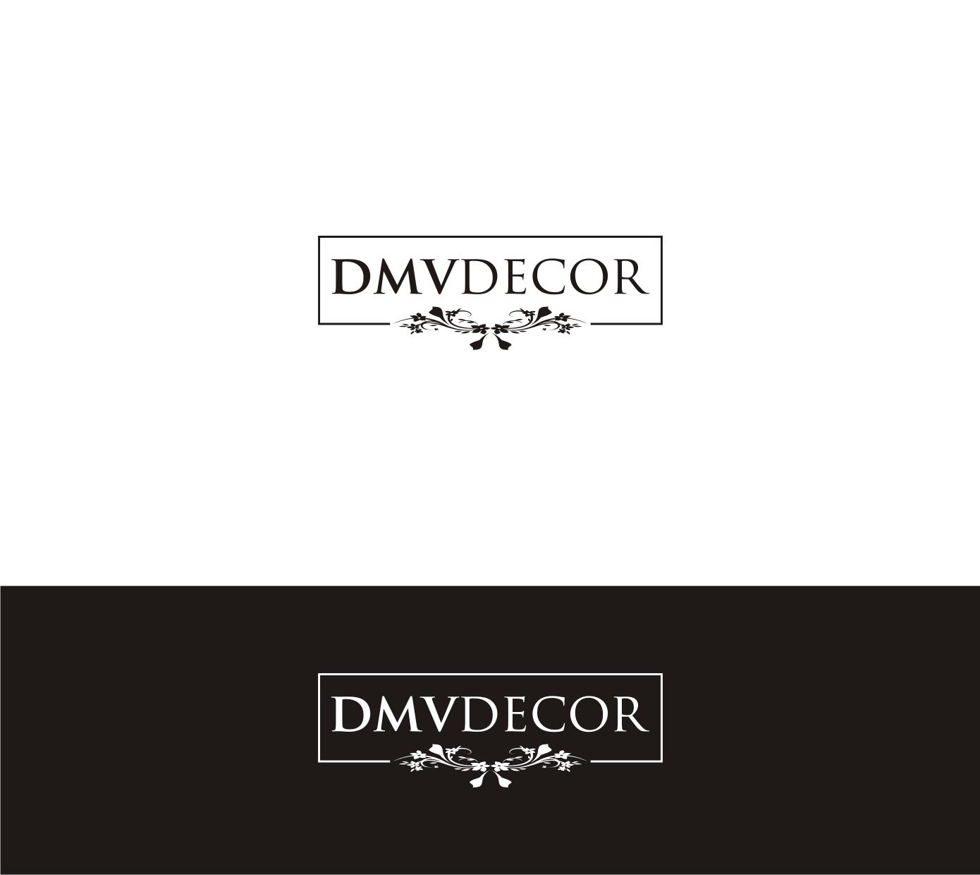 Logo Design by Sigitumarali Sigit - Entry No. 183 in the Logo Design Contest dmvdecor Logo Design.