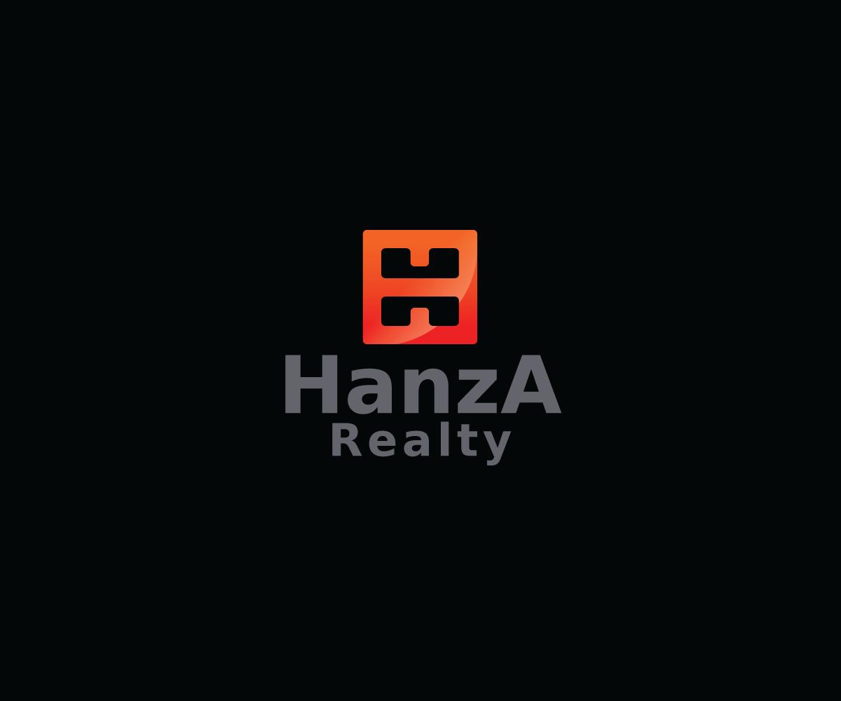 Logo Design by Nikoloz Molodinashvili - Entry No. 459 in the Logo Design Contest Logo Design for Hanza Realty.
