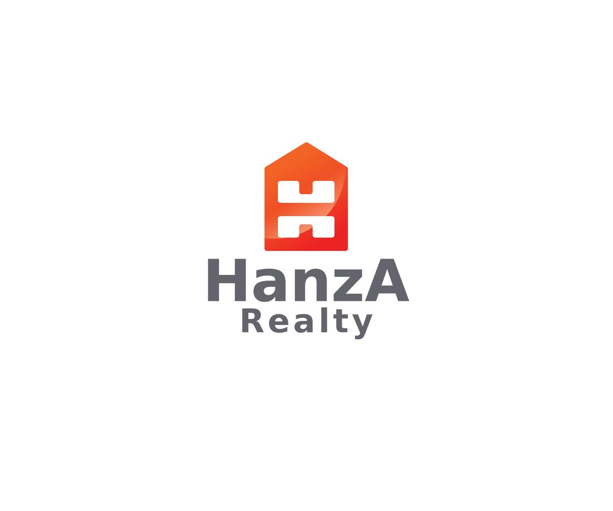 Logo Design by Nikoloz Molodinashvili - Entry No. 460 in the Logo Design Contest Logo Design for Hanza Realty.