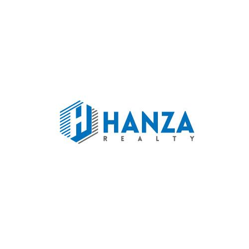 Logo Design by Sujon Miji - Entry No. 462 in the Logo Design Contest Logo Design for Hanza Realty.