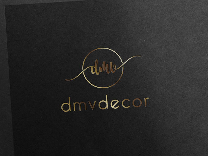 Logo Design by Sujon Miji - Entry No. 192 in the Logo Design Contest dmvdecor Logo Design.