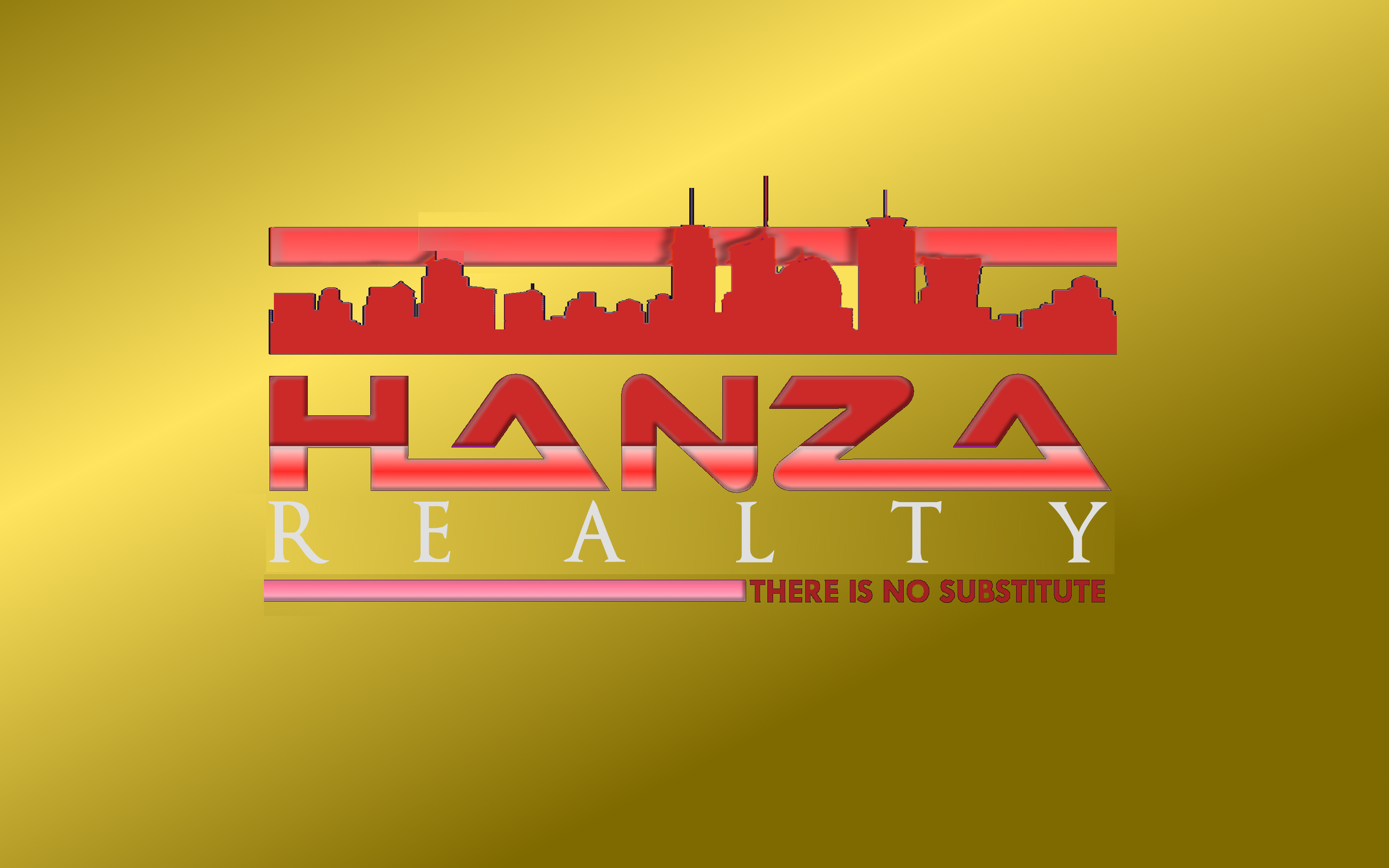 Logo Design by Roberto Bassi - Entry No. 466 in the Logo Design Contest Logo Design for Hanza Realty.