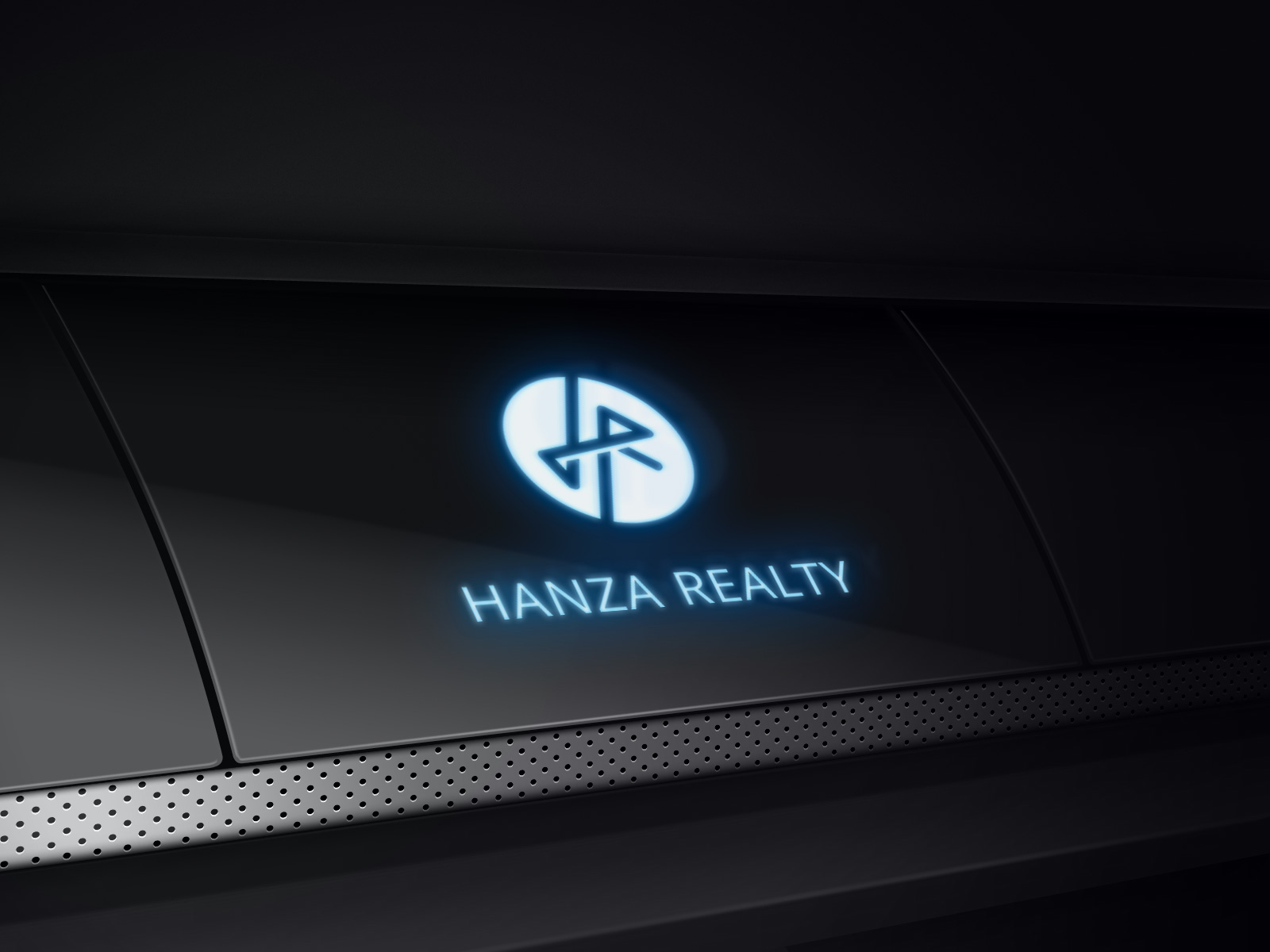 Logo Design by Robiul Robin - Entry No. 472 in the Logo Design Contest Logo Design for Hanza Realty.