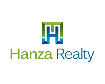 Logo Design by Robby Natajaya - Entry No. 474 in the Logo Design Contest Logo Design for Hanza Realty.