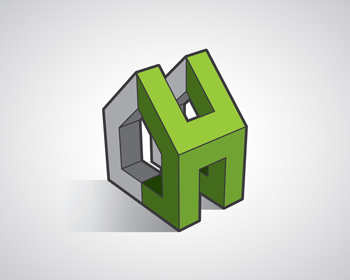 Logo Design by Robby Natajaya - Entry No. 477 in the Logo Design Contest Logo Design for Hanza Realty.