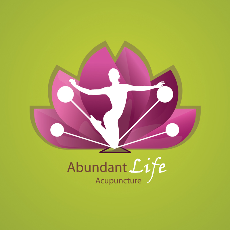 Logo Design by alemi - Entry No. 27 in the Logo Design Contest abundant life acupuncture.