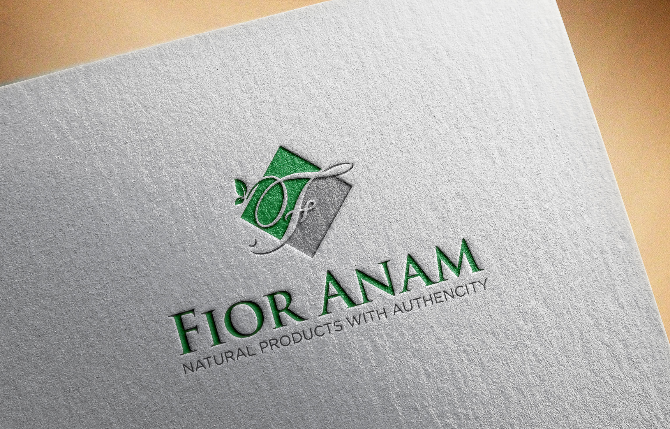 Logo Design by Raymond Garcia - Entry No. 10 in the Logo Design Contest Creative Logo Design for Fior Anam.