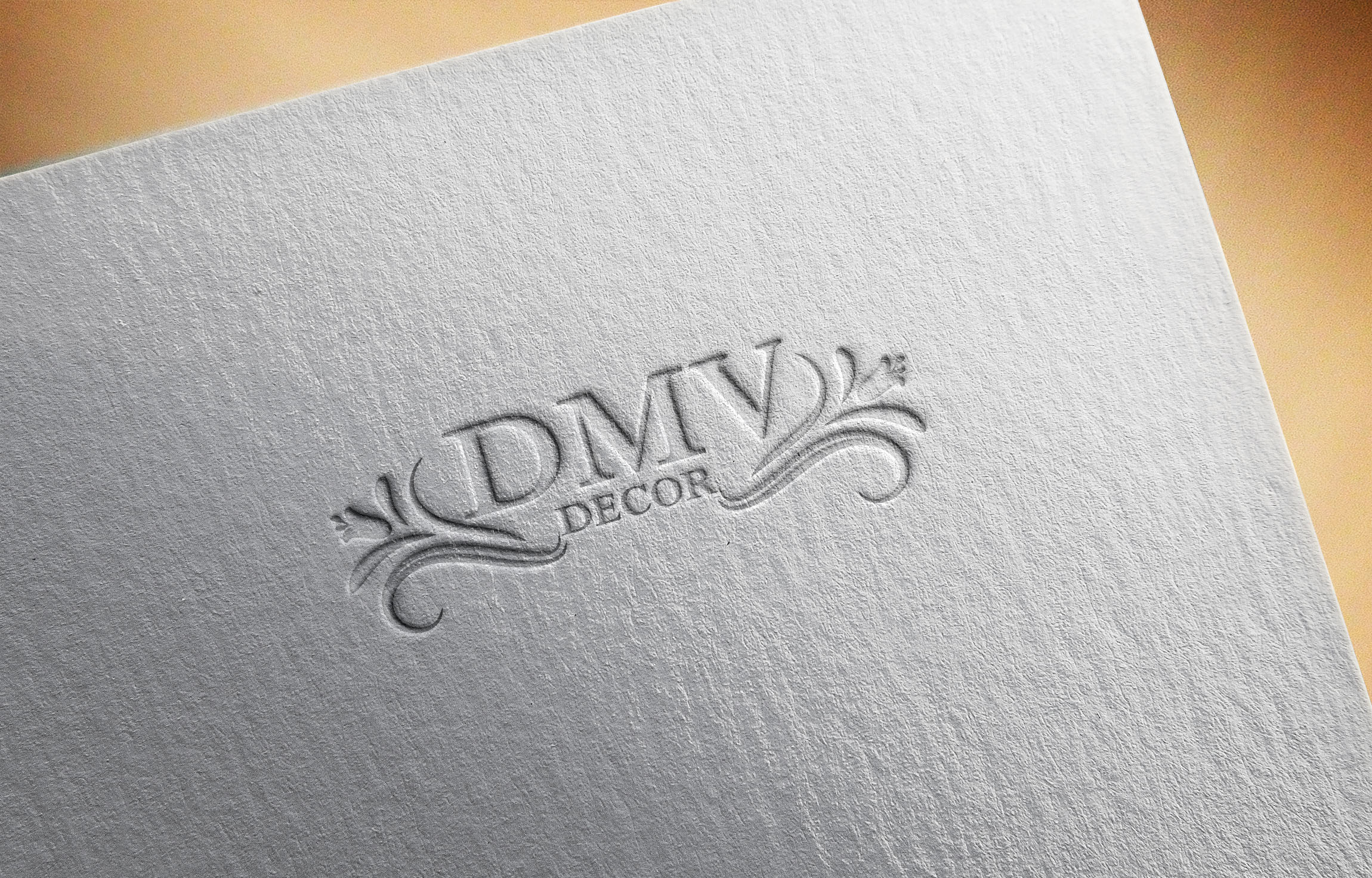 Logo Design by Raymond Garcia - Entry No. 201 in the Logo Design Contest dmvdecor Logo Design.
