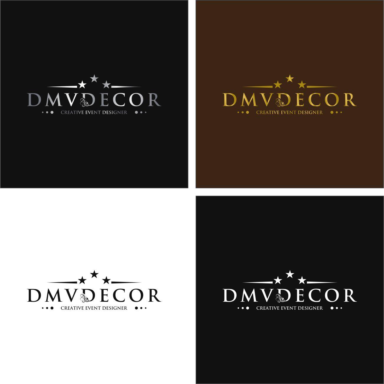 Logo Design by RasYa Muhammad Athaya - Entry No. 216 in the Logo Design Contest dmvdecor Logo Design.