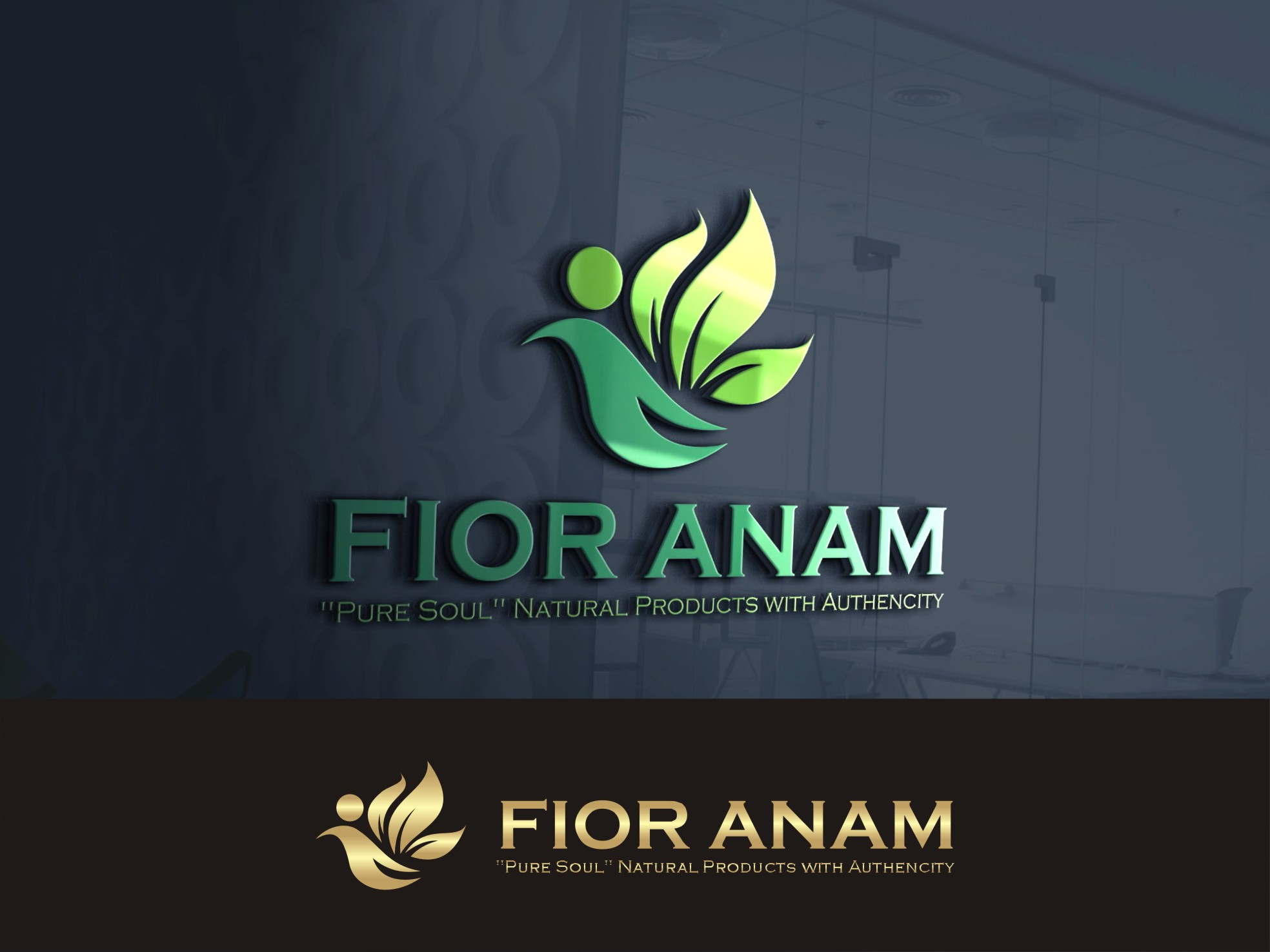 Logo Design by Lynx Graphics - Entry No. 314 in the Logo Design Contest Creative Logo Design for Fior Anam.