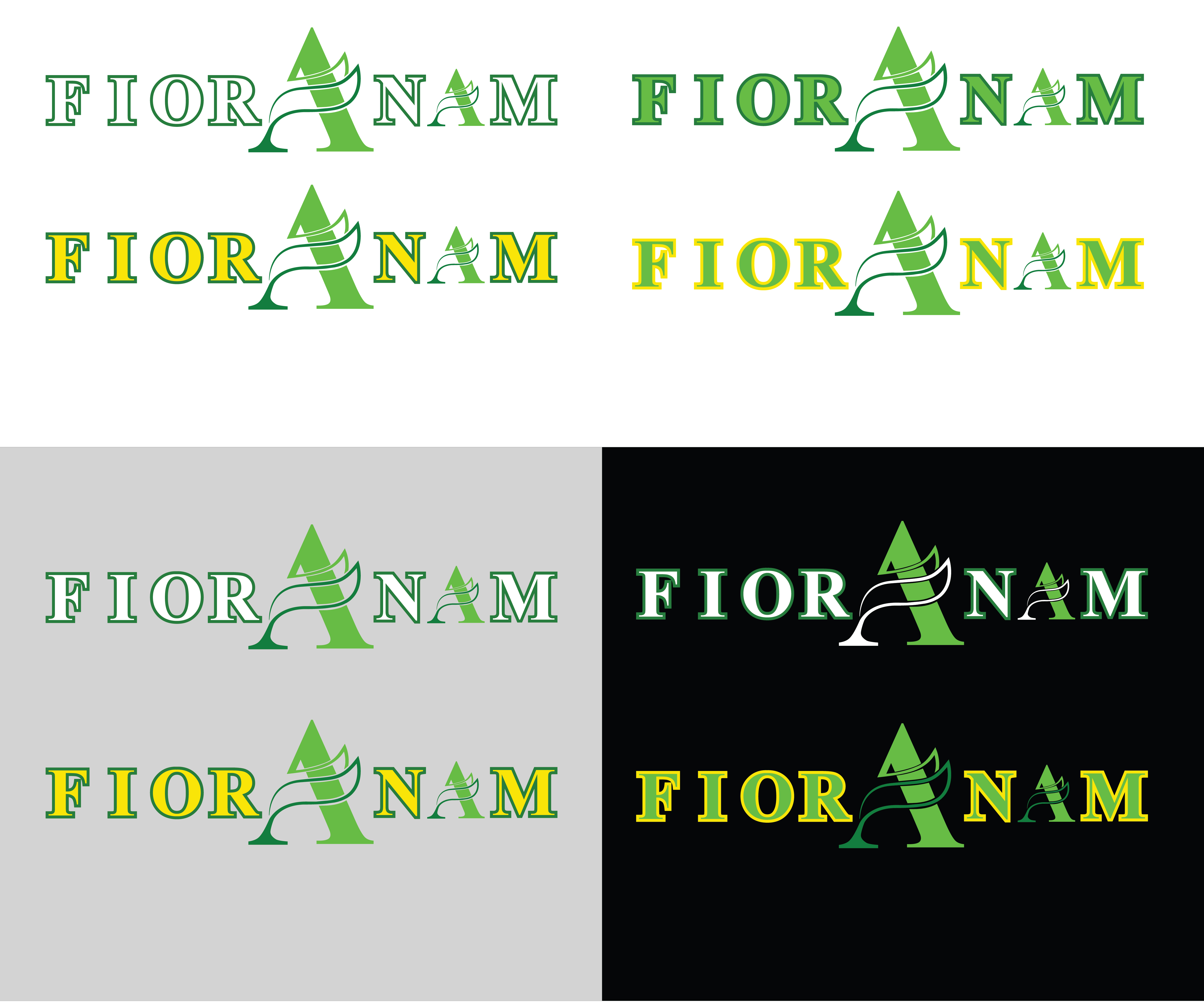 Logo Design by Ghufran Hassan - Entry No. 347 in the Logo Design Contest Creative Logo Design for Fior Anam.