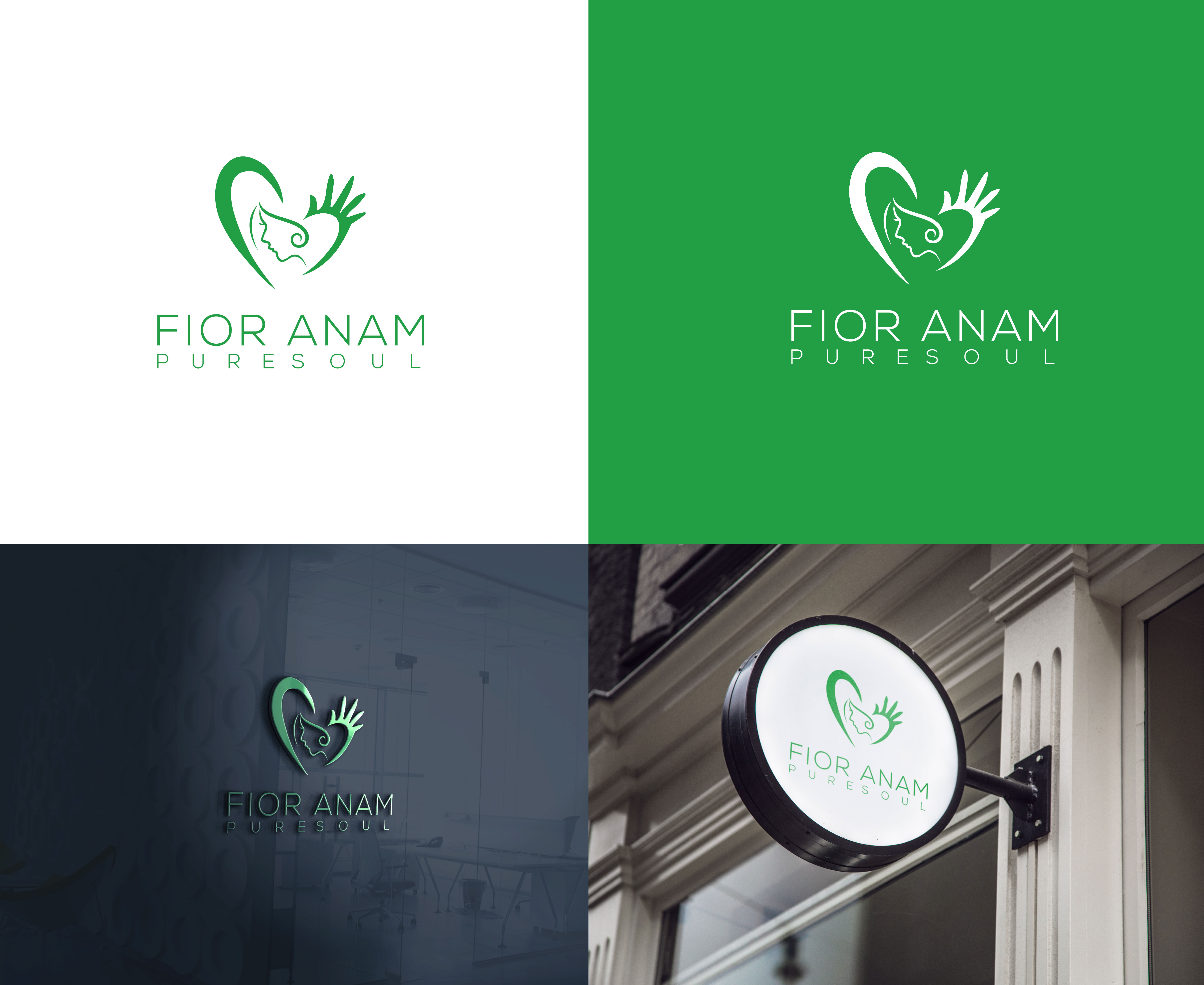 Logo Design by Robiul Robin - Entry No. 361 in the Logo Design Contest Creative Logo Design for Fior Anam.