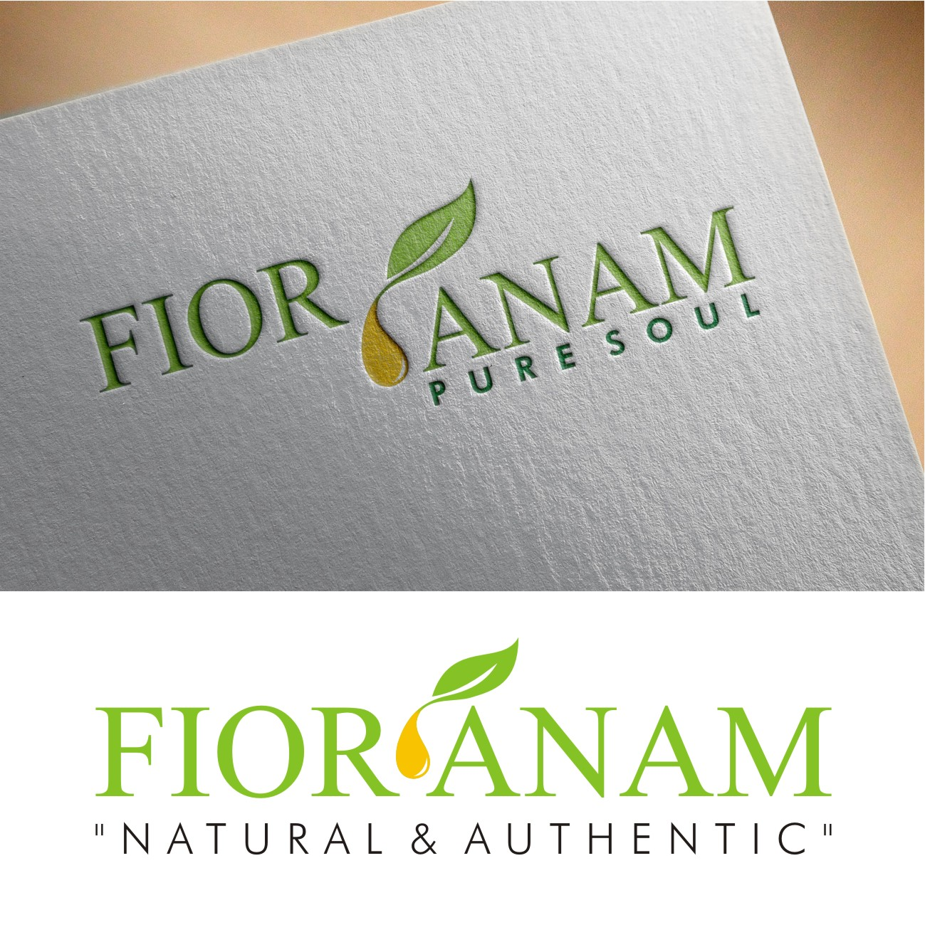 Logo Design by I graphics GRAPHICS - Entry No. 391 in the Logo Design Contest Creative Logo Design for Fior Anam.