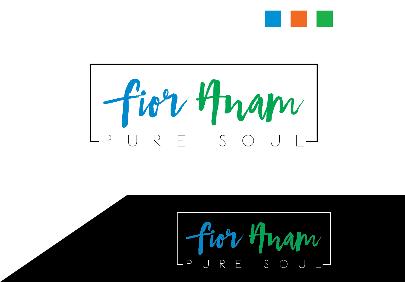 Logo Design by Prohor Ghagra - Entry No. 412 in the Logo Design Contest Creative Logo Design for Fior Anam.