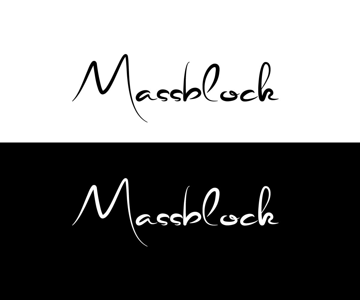 Logo Design by Mohammad azad Hossain - Entry No. 16 in the Logo Design Contest Fun Logo Design for Massblock.