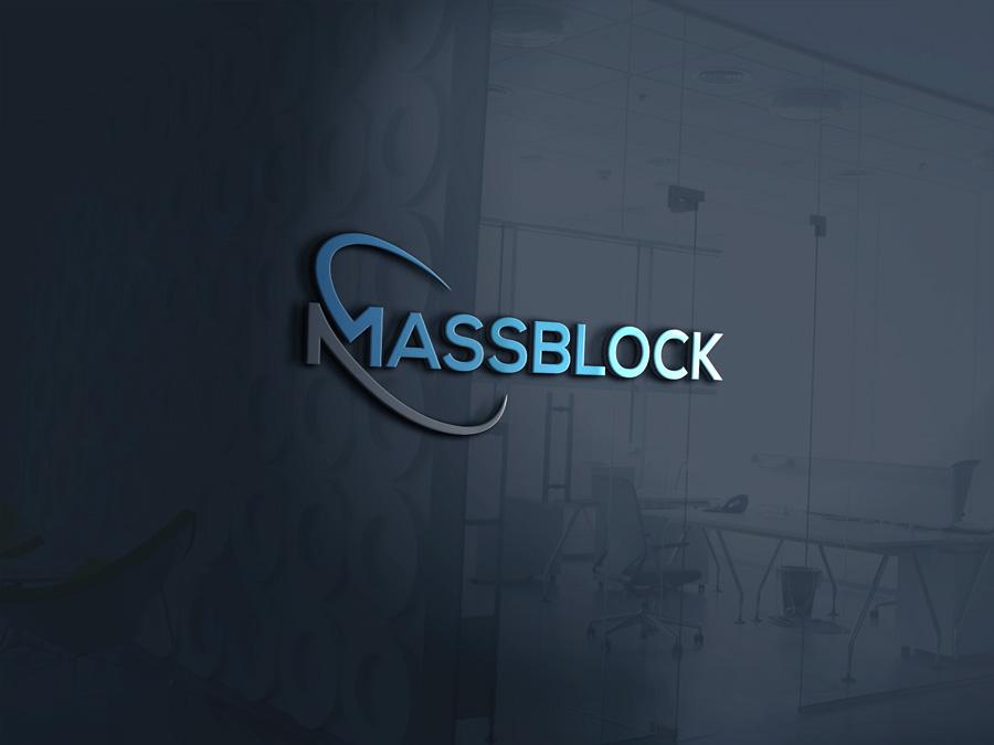 Logo Design by Magic Tools - Entry No. 38 in the Logo Design Contest Fun Logo Design for Massblock.