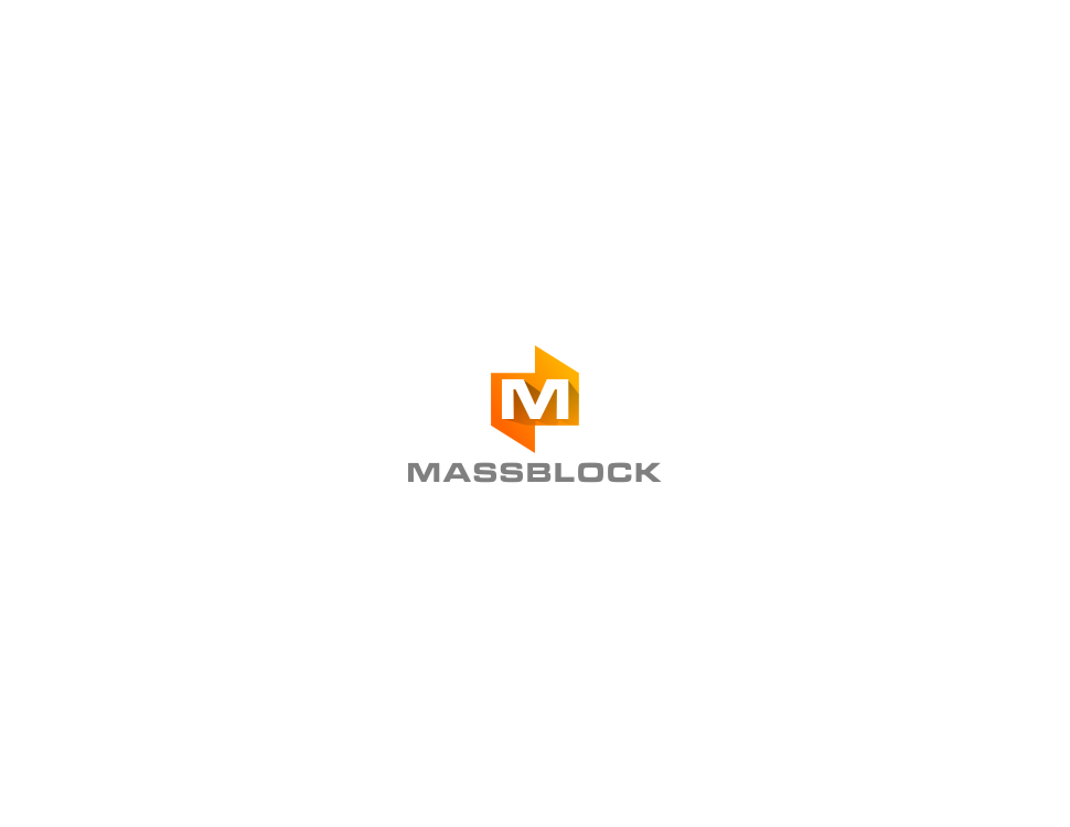 Logo Design by Raymond Garcia - Entry No. 43 in the Logo Design Contest Fun Logo Design for Massblock.