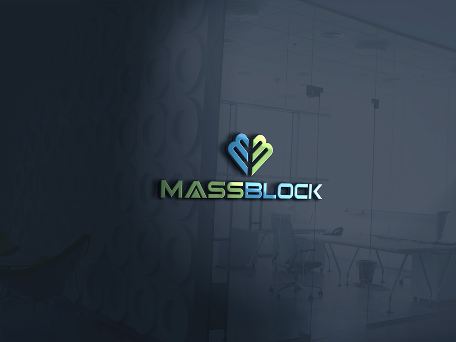 Logo Design by Neon Mirza shakib - Entry No. 60 in the Logo Design Contest Fun Logo Design for Massblock.