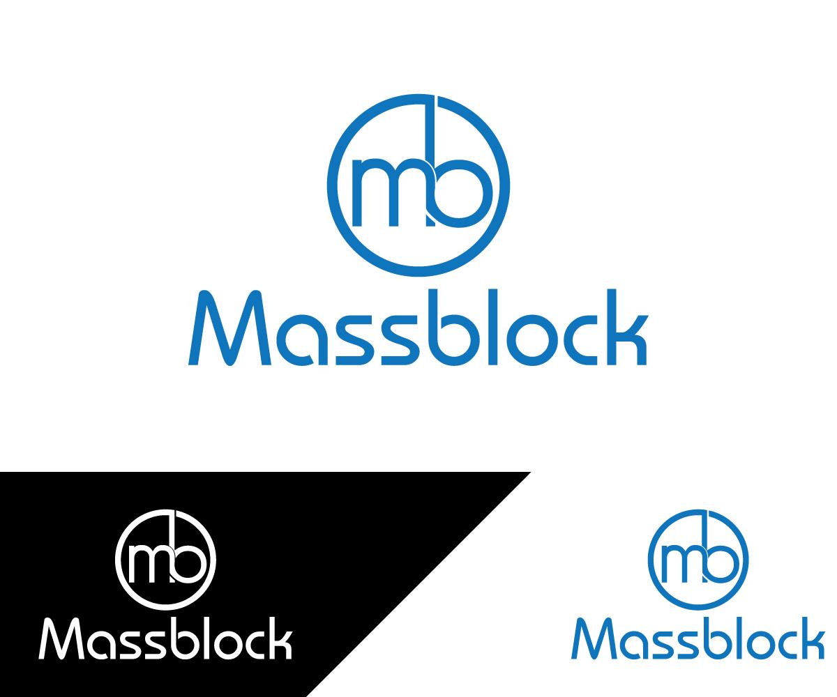 Logo Design by Mosharaf Karim - Entry No. 64 in the Logo Design Contest Fun Logo Design for Massblock.