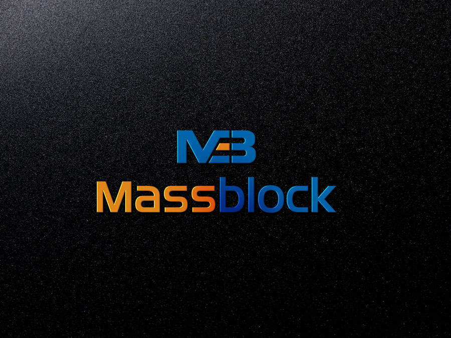 Logo Design by Neon Mirza shakib - Entry No. 68 in the Logo Design Contest Fun Logo Design for Massblock.