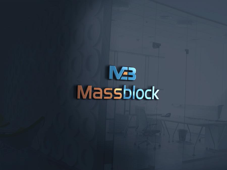 Logo Design by Neon Mirza shakib - Entry No. 69 in the Logo Design Contest Fun Logo Design for Massblock.