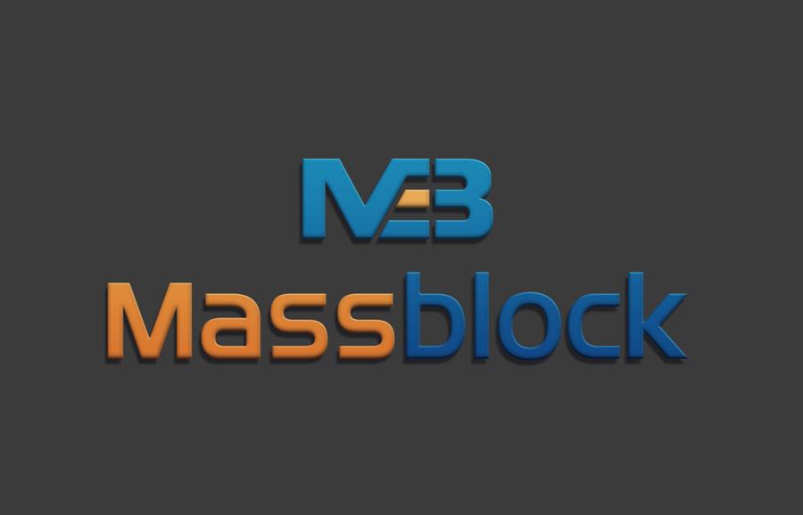 Logo Design by Neon Mirza shakib - Entry No. 72 in the Logo Design Contest Fun Logo Design for Massblock.