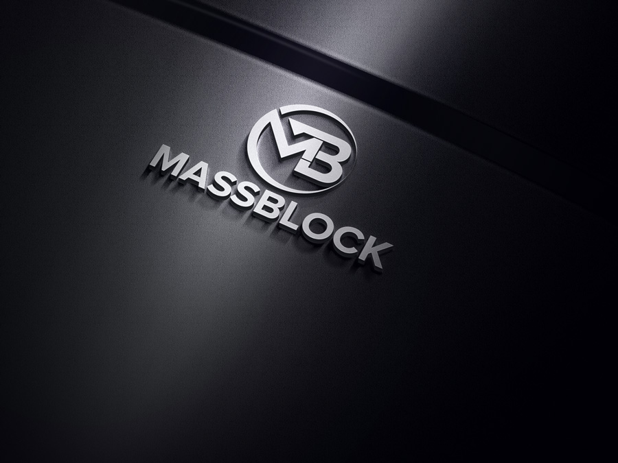 Logo Design by Magictool Magictool - Entry No. 82 in the Logo Design Contest Fun Logo Design for Massblock.