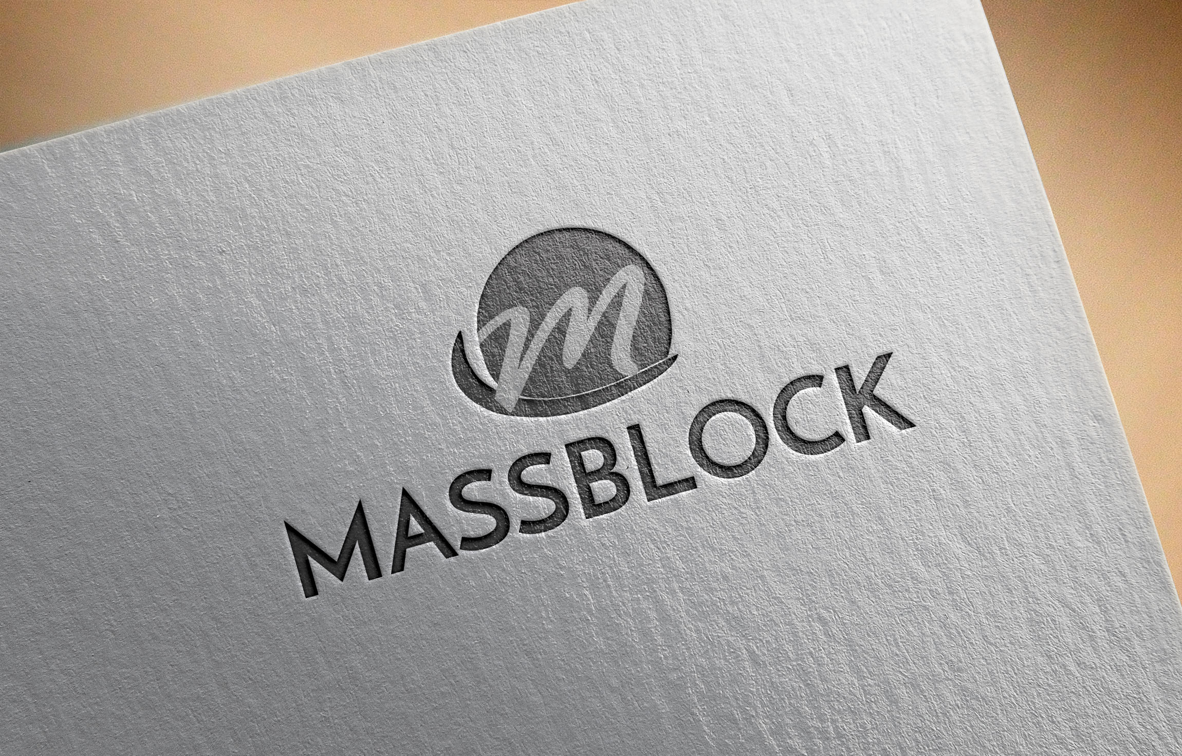 Logo Design by MD ZAHIR RAIHAN - Entry No. 93 in the Logo Design Contest Fun Logo Design for Massblock.