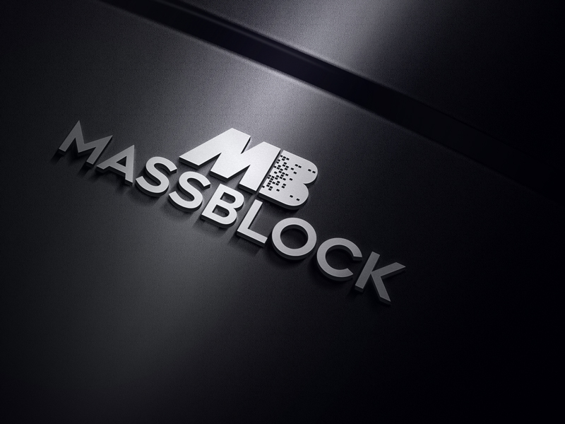 Logo Design by Taher Patwary - Entry No. 124 in the Logo Design Contest Fun Logo Design for Massblock.