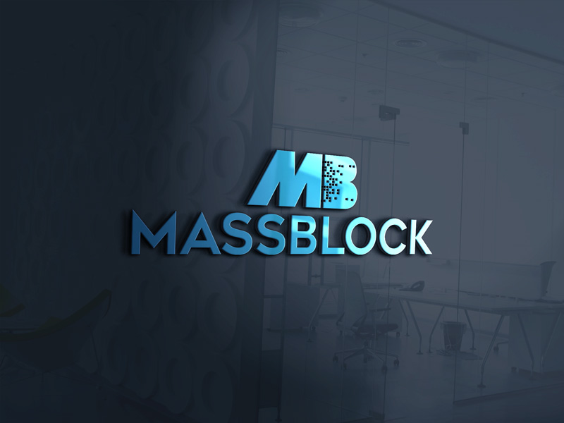 Logo Design by Taher Patwary - Entry No. 127 in the Logo Design Contest Fun Logo Design for Massblock.