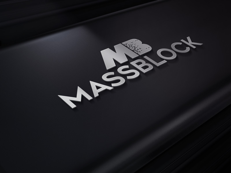Logo Design by Taher Patwary - Entry No. 129 in the Logo Design Contest Fun Logo Design for Massblock.