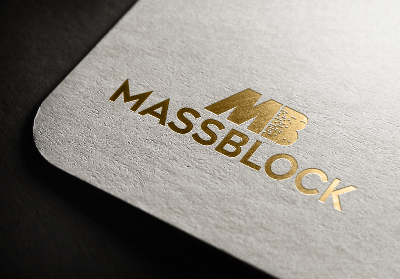Logo Design by Taher Patwary - Entry No. 131 in the Logo Design Contest Fun Logo Design for Massblock.