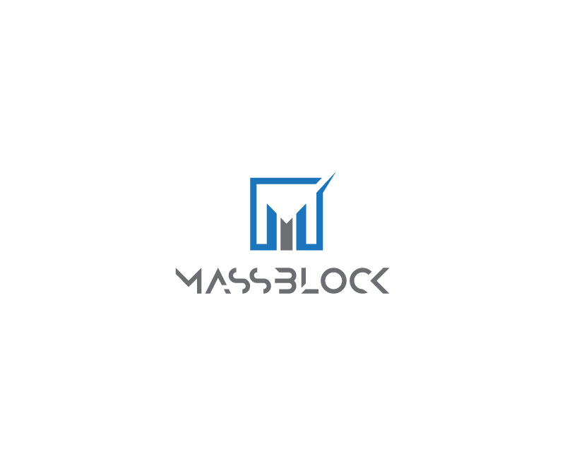 Logo Design by Tauhid Shaikh - Entry No. 139 in the Logo Design Contest Fun Logo Design for Massblock.