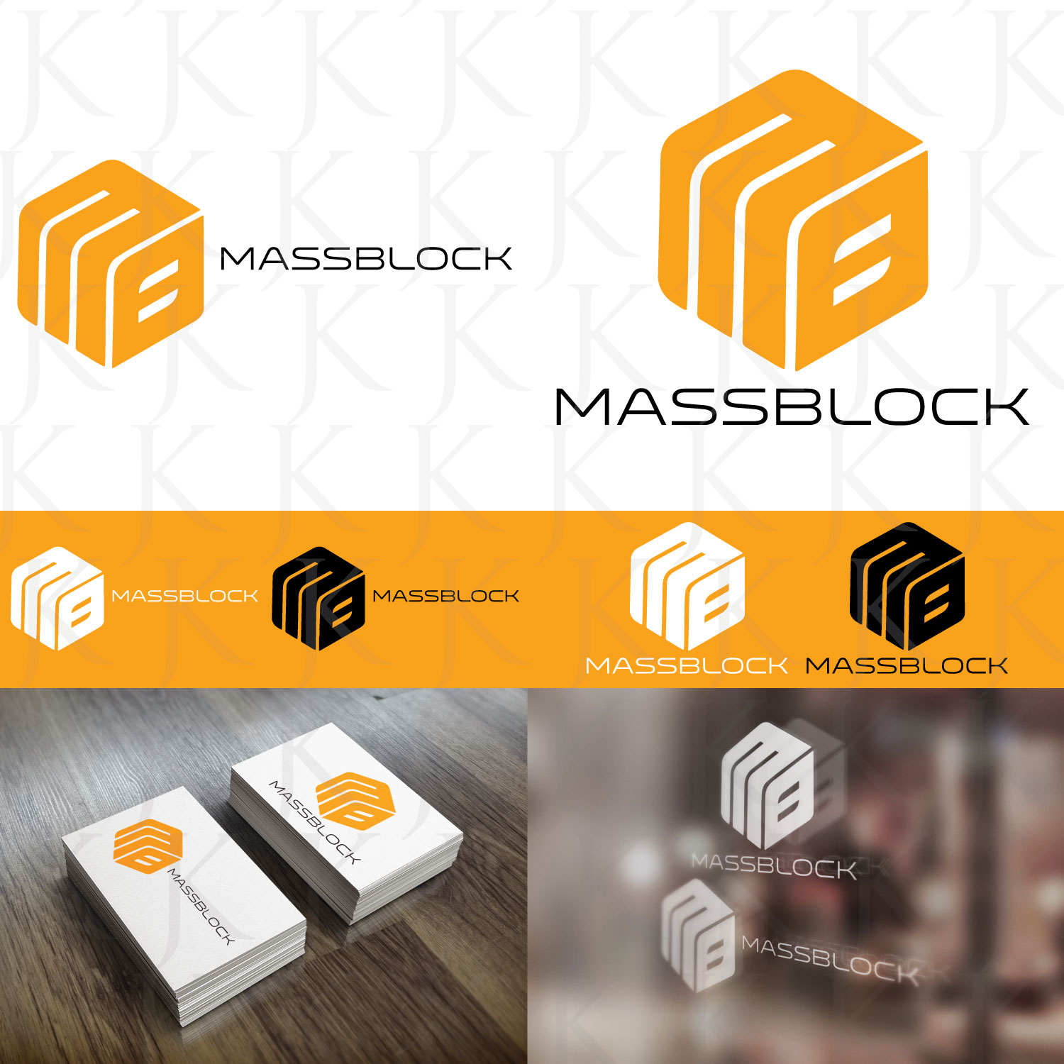 Logo Design by Jeremy Kua - Entry No. 161 in the Logo Design Contest Fun Logo Design for Massblock.