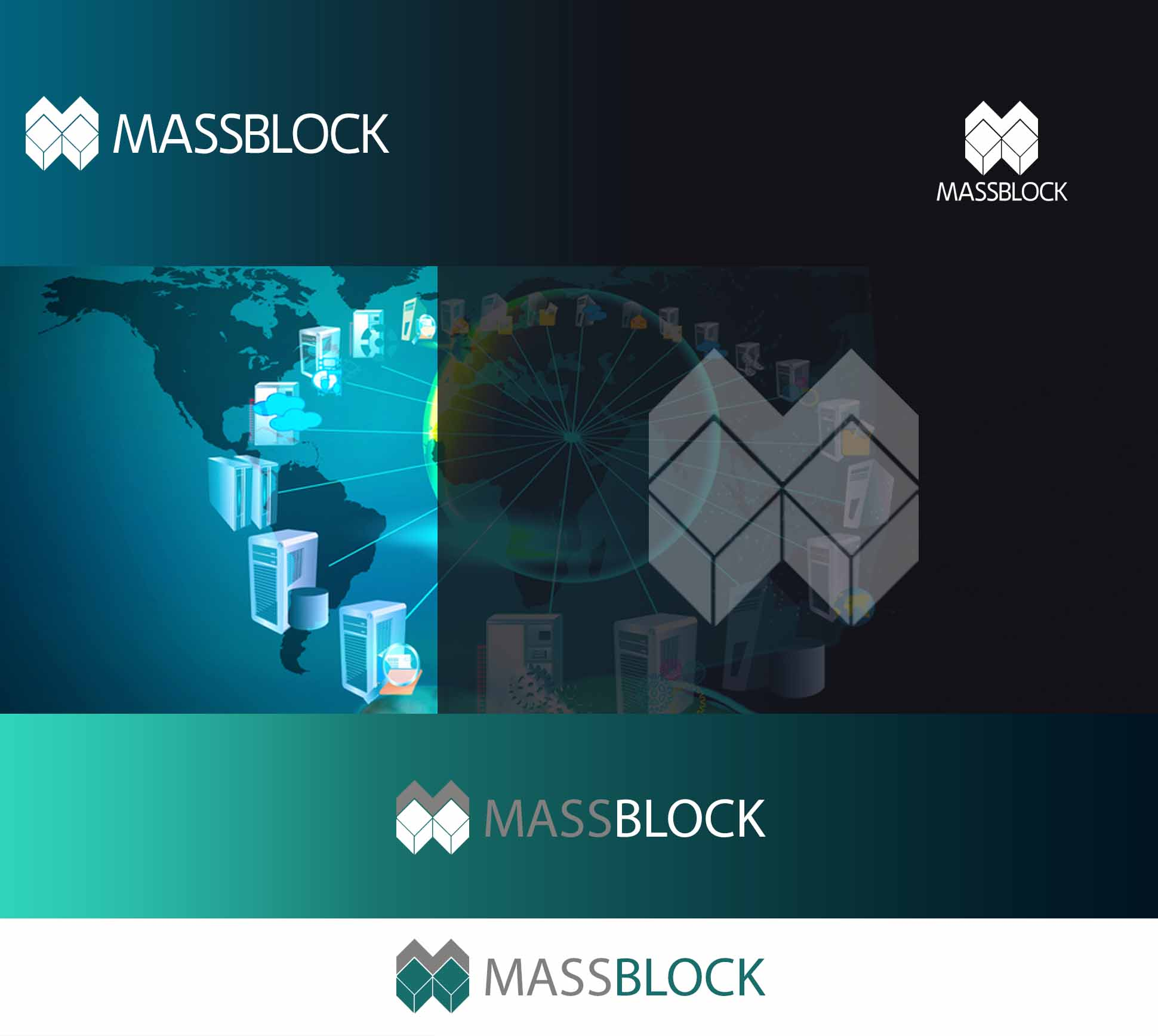 Logo Design by JSDESIGNGROUP - Entry No. 164 in the Logo Design Contest Fun Logo Design for Massblock.