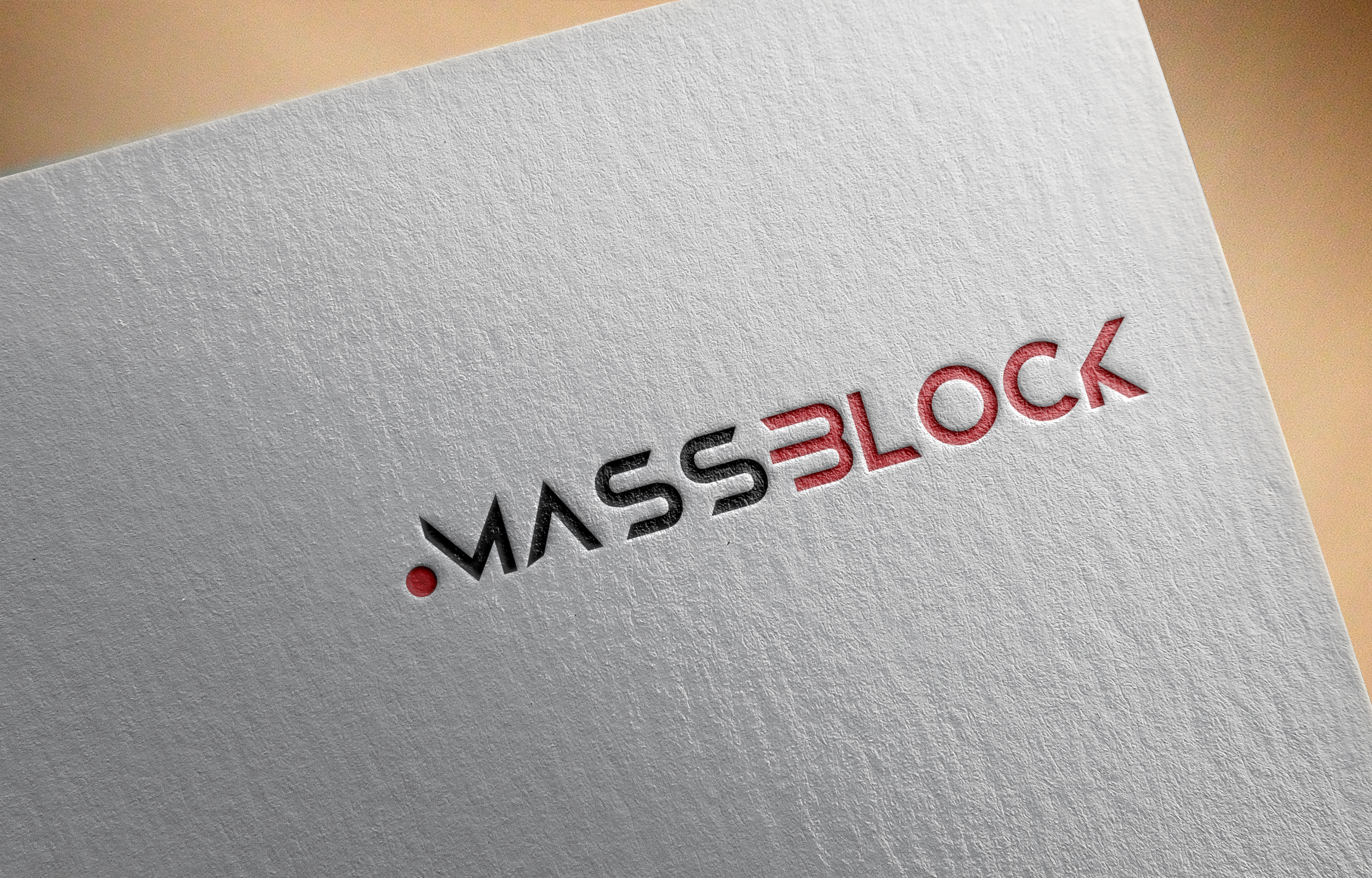 Logo Design by Prohor Ghagra - Entry No. 169 in the Logo Design Contest Fun Logo Design for Massblock.