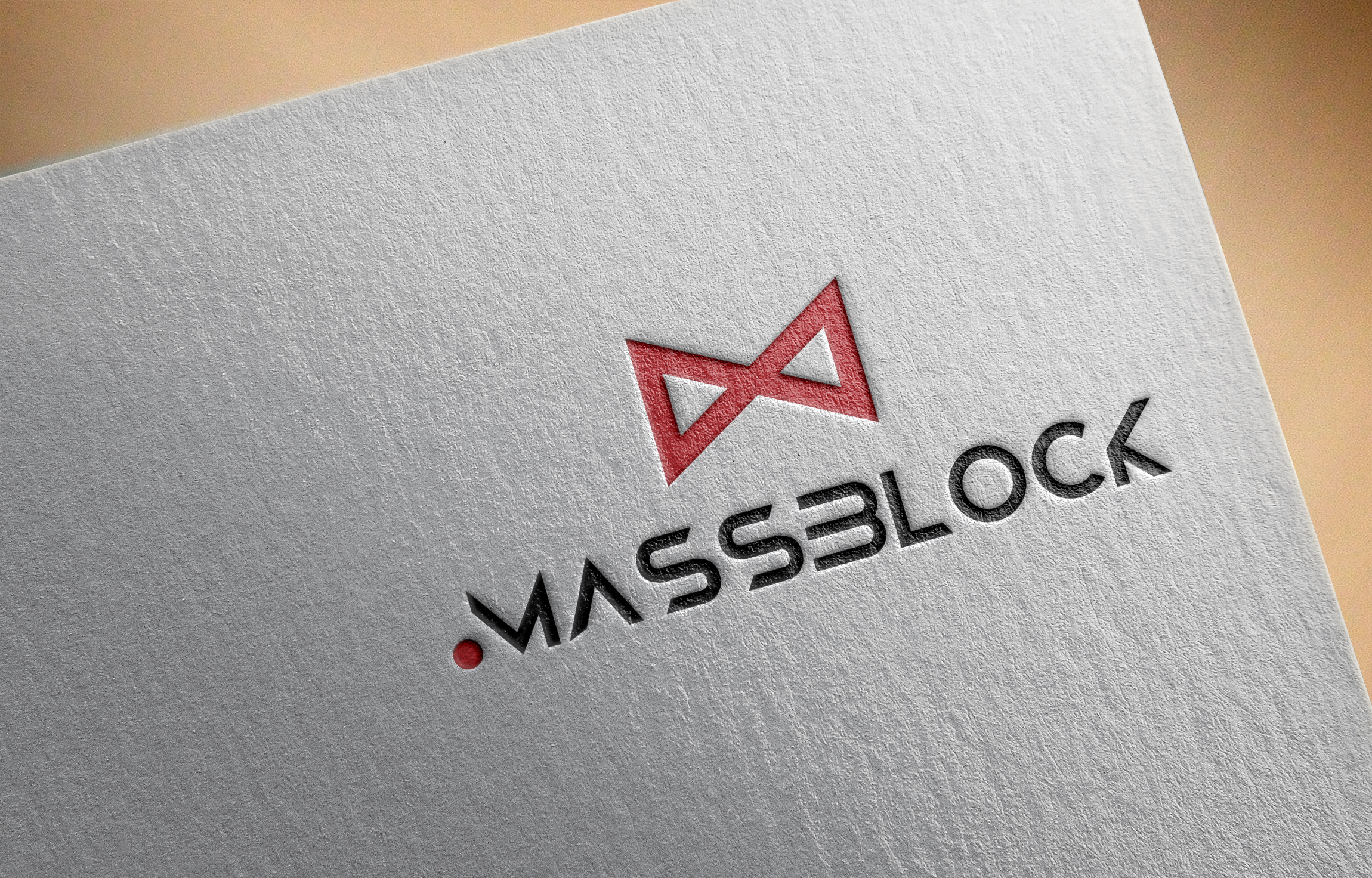 Logo Design by Prohor Ghagra - Entry No. 170 in the Logo Design Contest Fun Logo Design for Massblock.
