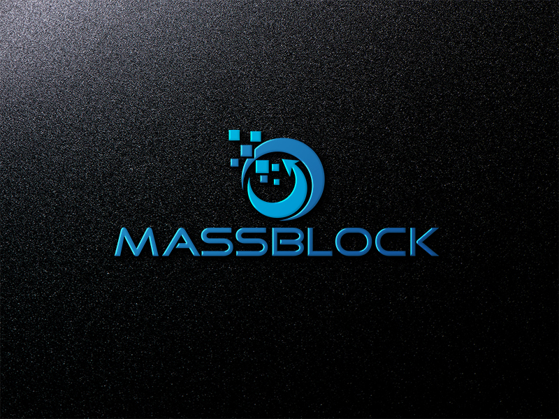 Logo Design by Bahar Hossain - Entry No. 175 in the Logo Design Contest Fun Logo Design for Massblock.