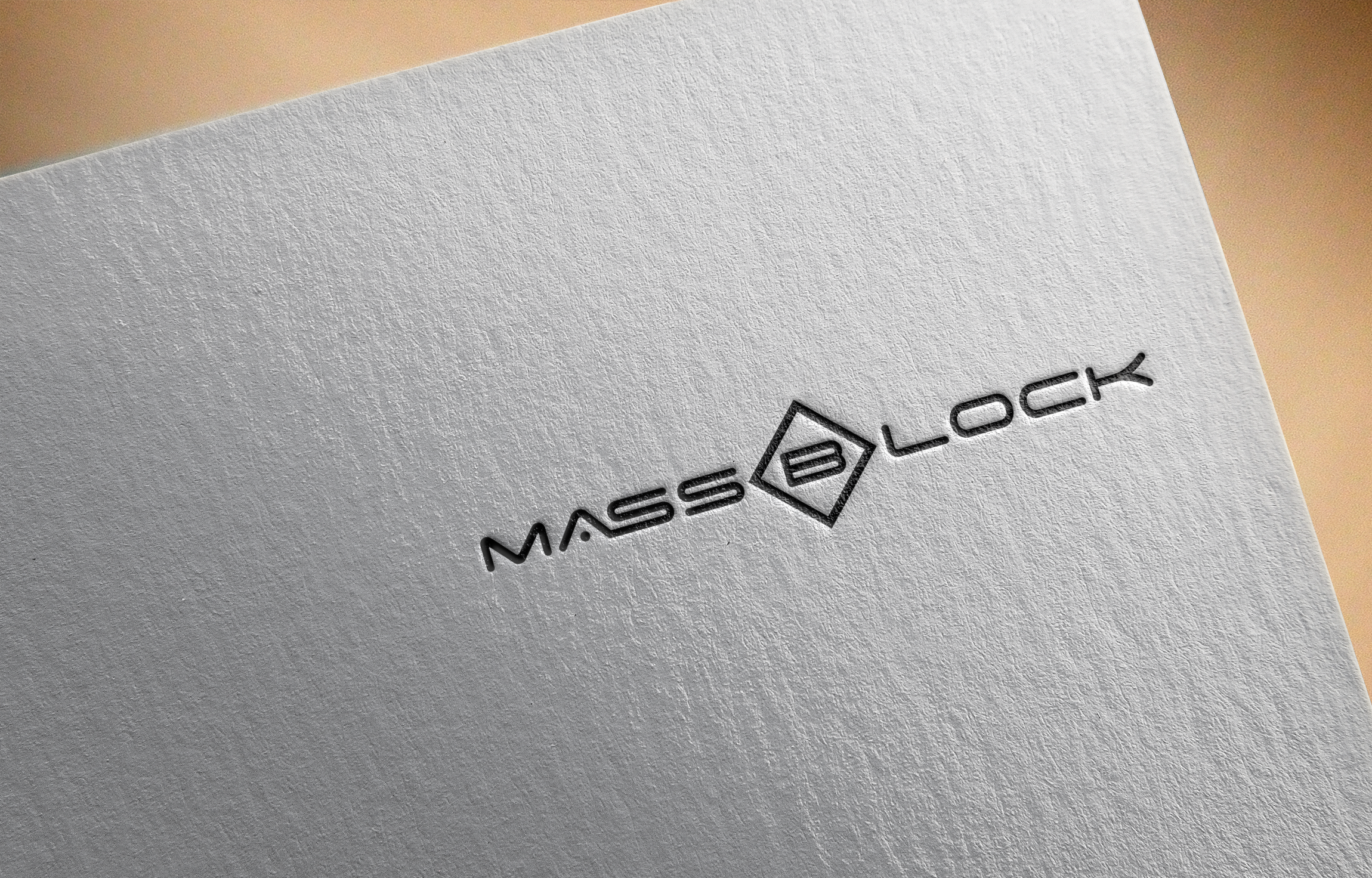 Logo Design by Prohor Ghagra - Entry No. 188 in the Logo Design Contest Fun Logo Design for Massblock.