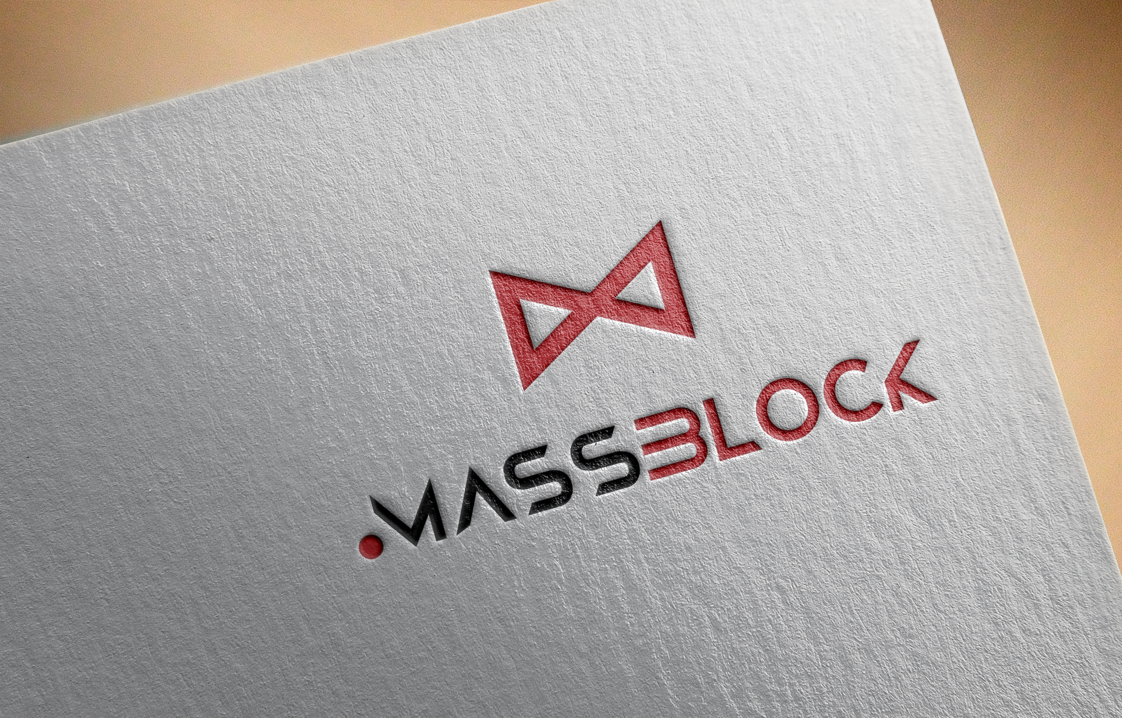 Logo Design by Prohor Ghagra - Entry No. 191 in the Logo Design Contest Fun Logo Design for Massblock.