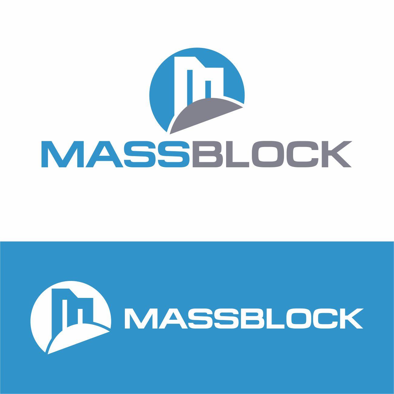 Logo Design by RasYa Muhammad Athaya - Entry No. 193 in the Logo Design Contest Fun Logo Design for Massblock.