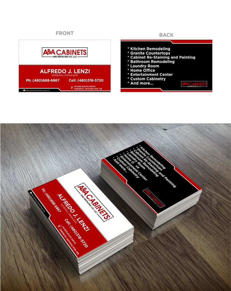 Business Card Design Contests » Inspiring Business Card Design for ...