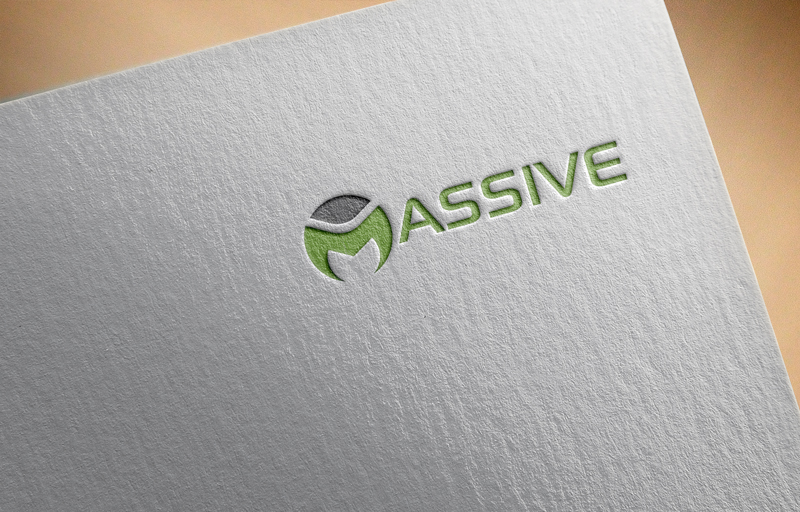 Logo Design by Mohammad azad Hossain - Entry No. 31 in the Logo Design Contest MASSIVE LOGO.