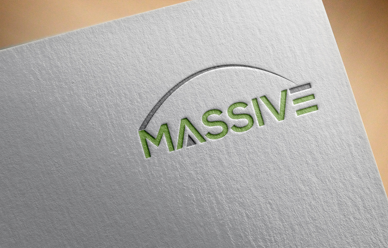 Logo Design by Mohammad azad Hossain - Entry No. 32 in the Logo Design Contest MASSIVE LOGO.