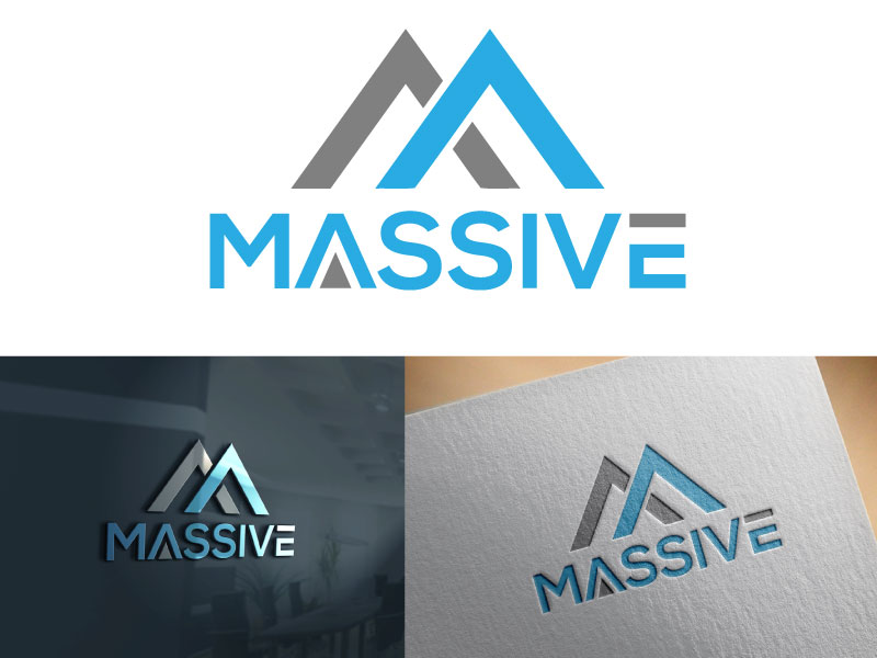 Logo Design by Md Harun Or Rashid - Entry No. 54 in the Logo Design Contest MASSIVE LOGO.