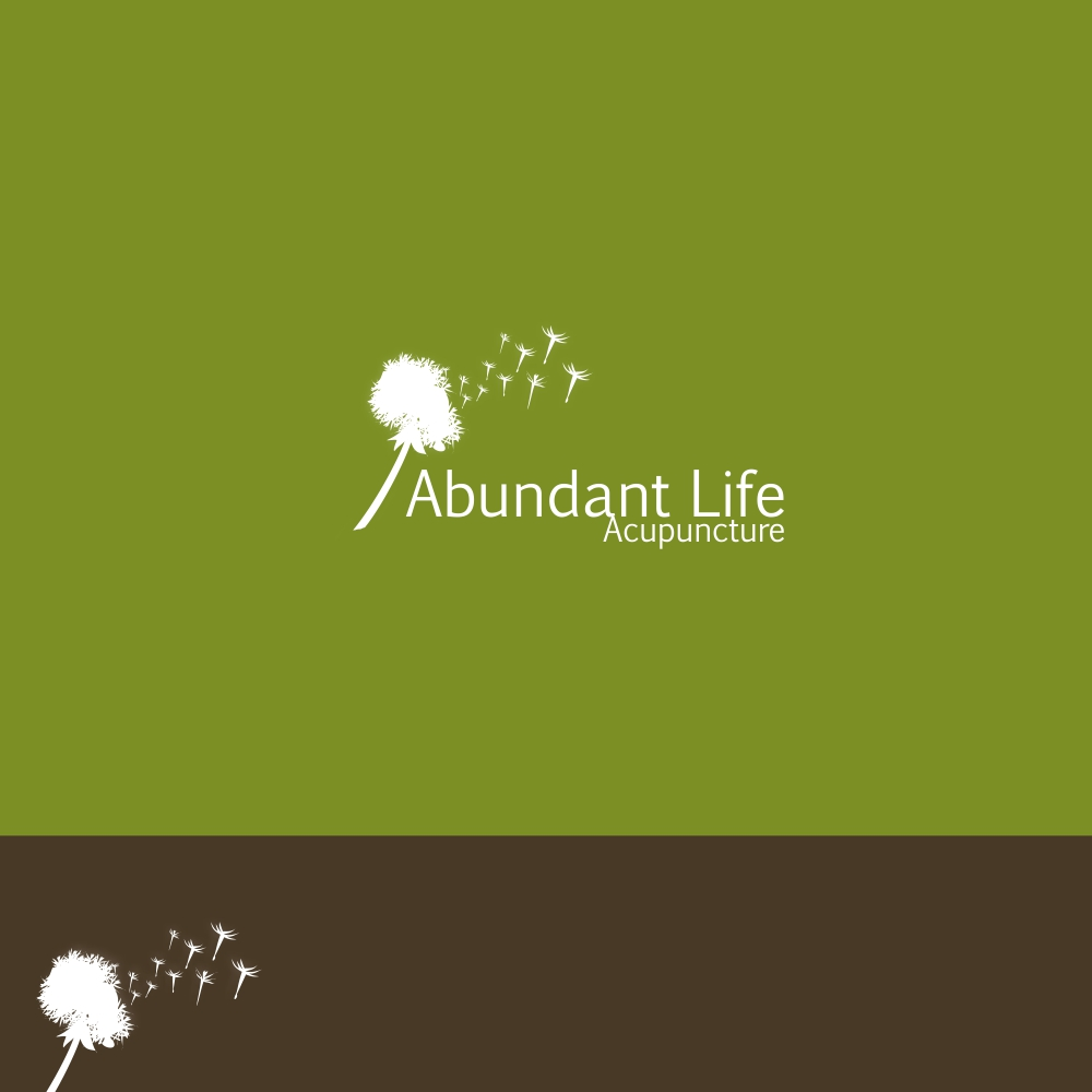 Logo Design by igno - Entry No. 67 in the Logo Design Contest abundant life acupuncture.
